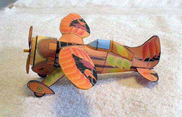 illustration for the Arbor Day Bulldog paper model